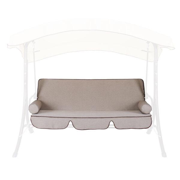 """Отшив сидения , ткань и поролон на качель """"Флоренция"""" фото"""