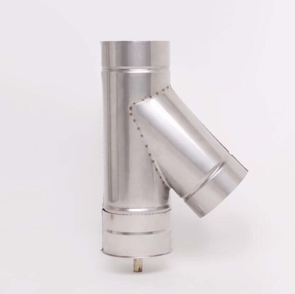 AISI 304 Тройник 45° s0,5 мм d120 мм фото