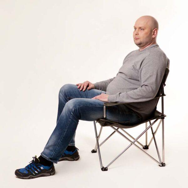 "Кресло ""Вояж-комфорт"" d16 мм (зеленый Меланж) фото"