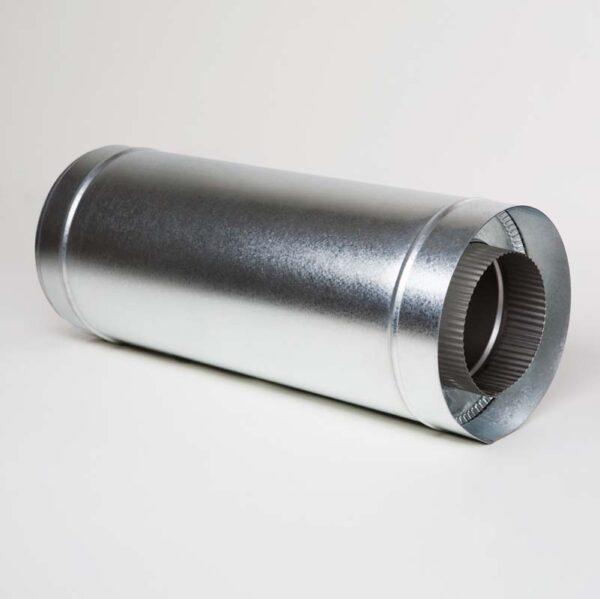 Н/ОЦ Труба вставка s0,5 мм (AISI 304/ОЦ) L0,5 м d130/200 мм фото