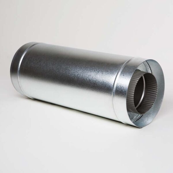 Н/ОЦ Труба вставка s0,5 мм (AISI 304/ОЦ) L0,5 м d200/260 мм фото