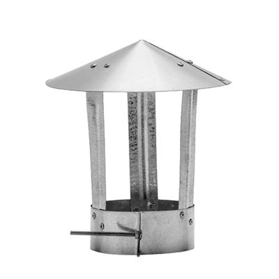 Зонт вент. d110-120 мм фото