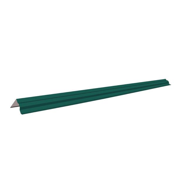 Ветровая планка 110*110 мм Зеленый RAL 6005 фото
