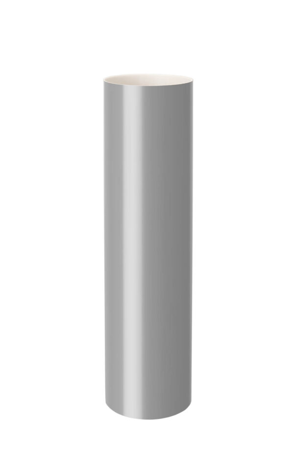 Труба водосточная 3 м.100 СЕРАЯ фото