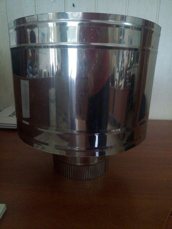 AISI 430  Дефлектор d135мм s0,5 мм фото