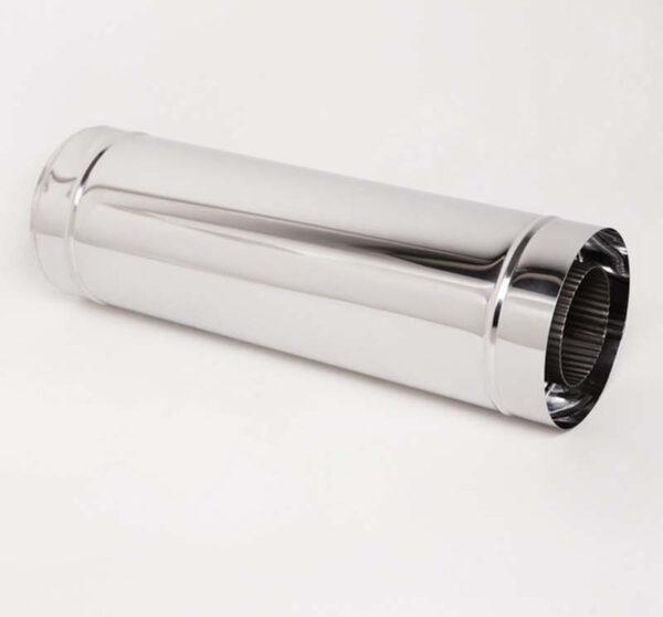 Н/Н Труба вставка s0,5 мм (АISI 304/430) L0,5 м d200/260 мм фото