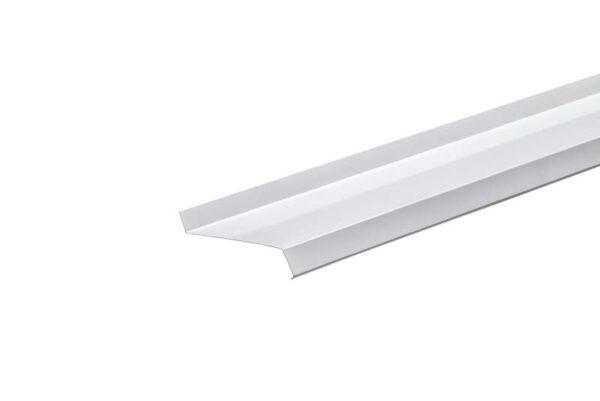 Отлив L1,5 м 20*80*30 мм Белый RAL 9003 фото