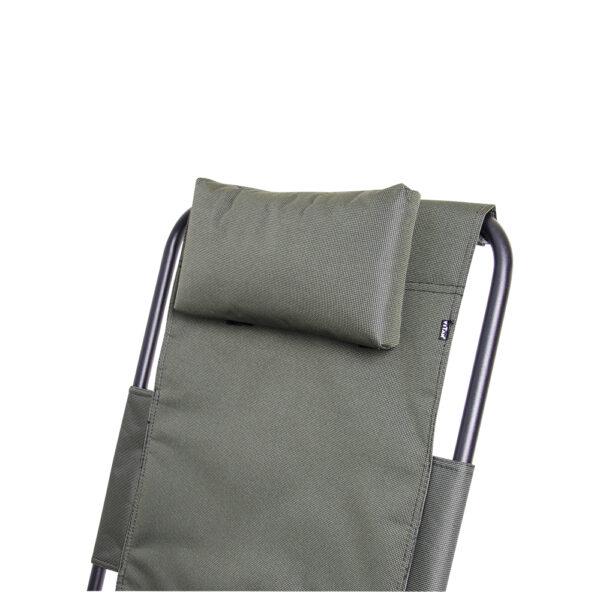 """Кресло-шезлонг """"Ясень"""" d20 мм (зеленый меланж) фото"""