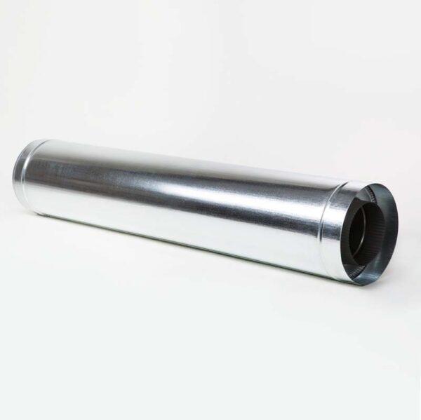 Н/ОЦ Труба двуст.s0,5 мм (AISI 304/ОЦ) L1 м d100/160 мм терм фото