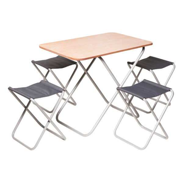"Комплект ""Пикник"" Стол + 4 стула фото"