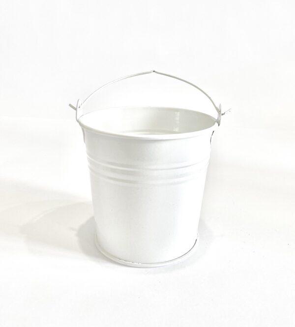 Відро 0,5л Vitan, колір Білий матовий фото