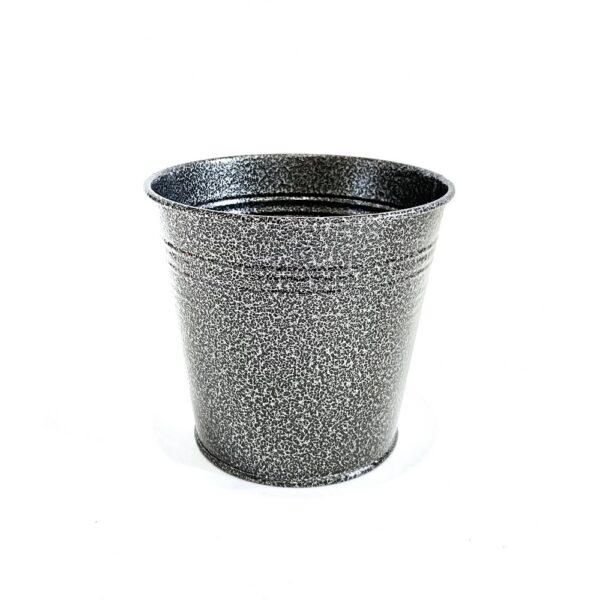 Кашпо 1,0л Vitan, колір Сіро-чорний фото