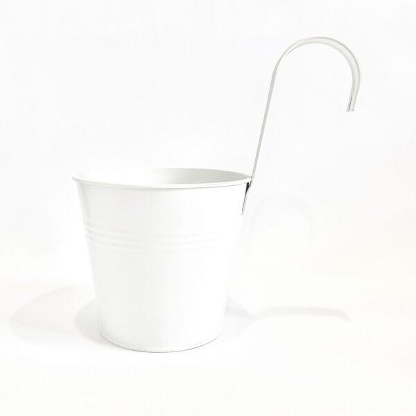 Кашпо 2  л з підвісом Vitan, колір Білий матовий фото