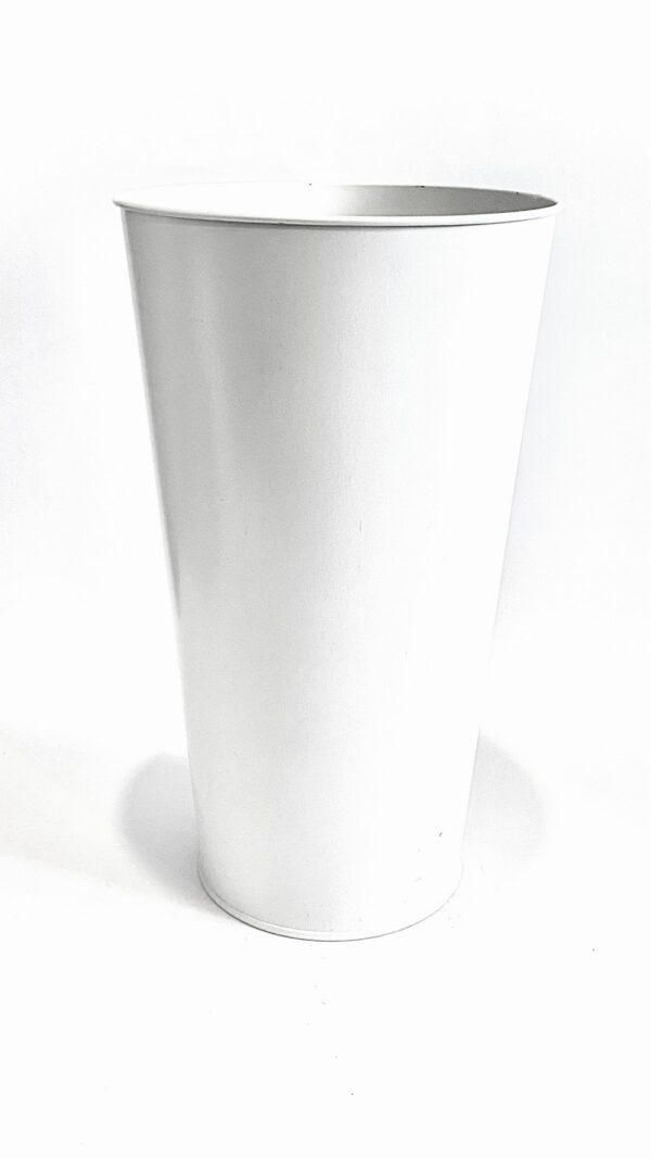 Вазон 11л Vitan, колір Білий матовий фото